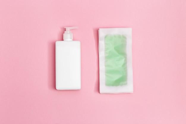 Groene waxstrips met mint en verkoelend effect, body moisturizer