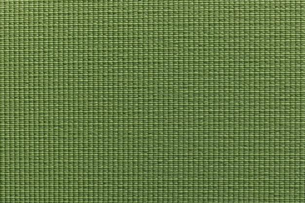 Groene yoga oefening mat textuur achtergrond