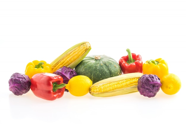 Groenten geïsoleerd