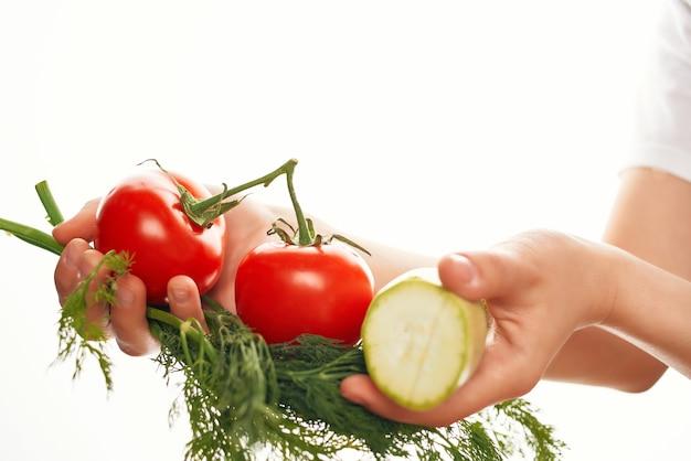 Groenten groenten salade bereiding vitaminen gezonde voeding
