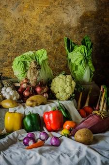 Groenten, kruiden en fruit