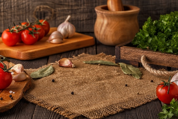 Groenten, kruiden, specerijen
