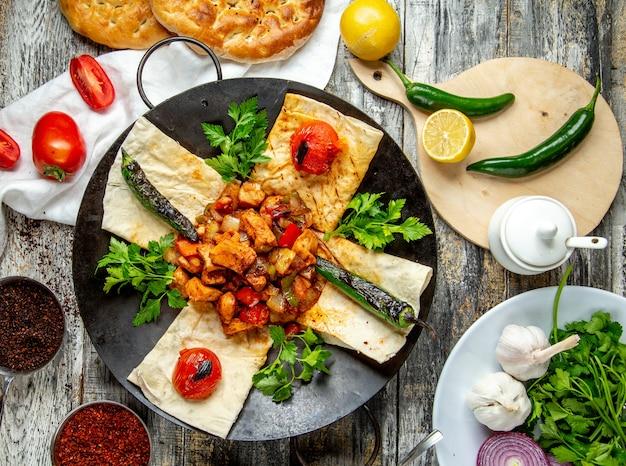Groenten van vlees sadj groenten maakt kruiden hoogste mening groen