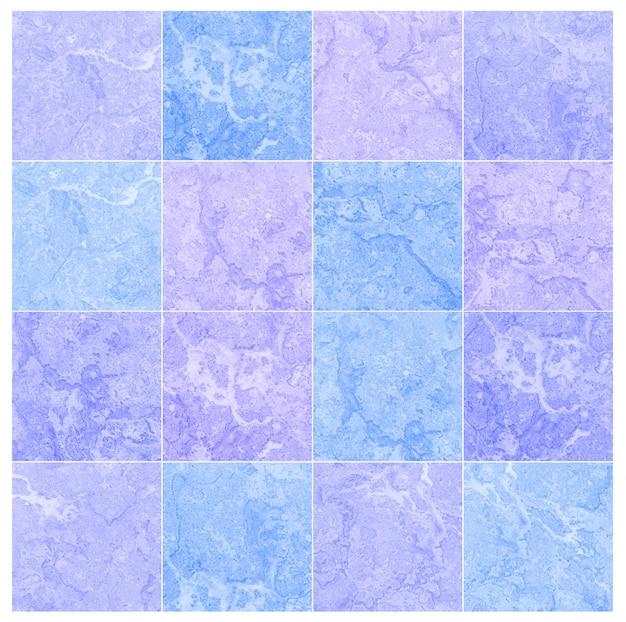 Groep de textuurachtergrond van de close-upoppervlakte marmeren vloer