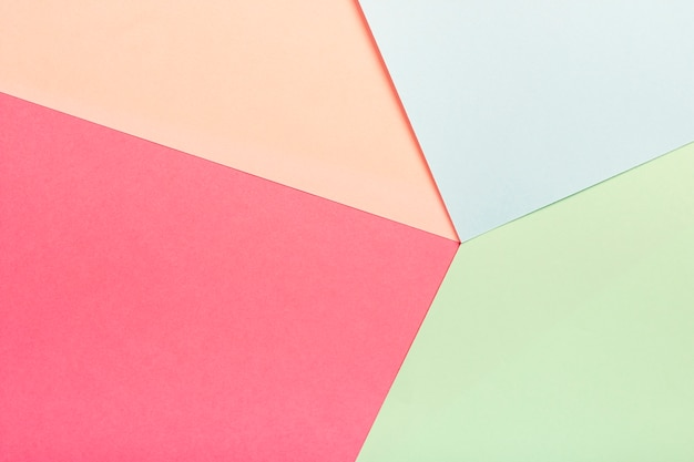 Groep pastel kartonnen vellen