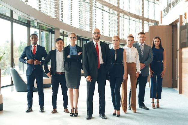 Groep van mensen uit het bedrijfsleven