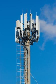 Groep verschillende cellulaire draadloze zenders