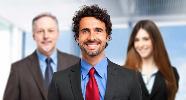 Groep zakenmensen