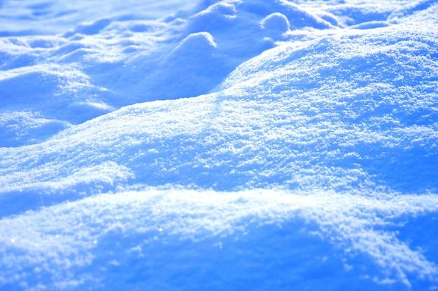 Grond met sneeuw