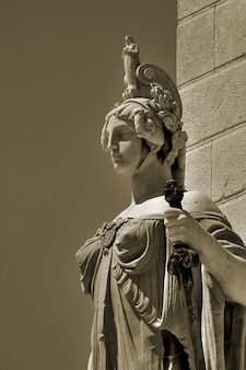 Grondwet standbeeld