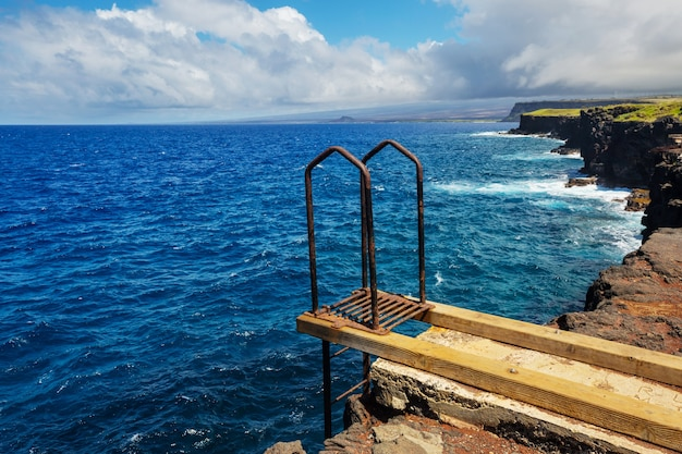 Groot eiland hawaï