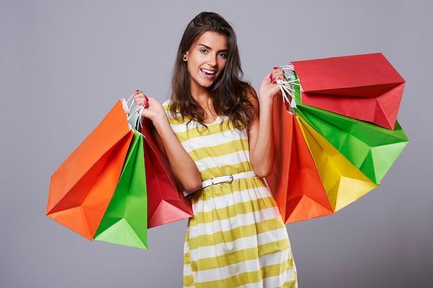 Groot geluk na goed winkelen