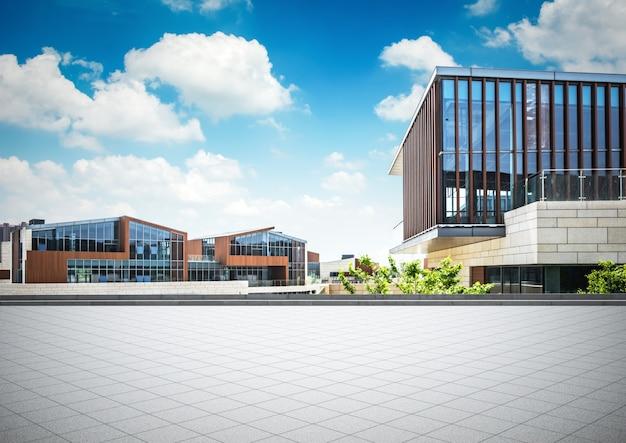 Groot modern kantoorgebouw