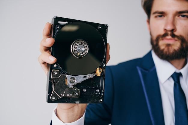 Grootformaat harde schijf informatieservicetechnologie