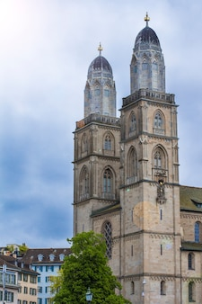 Grossmunster, romaanse kathedraal in zürich