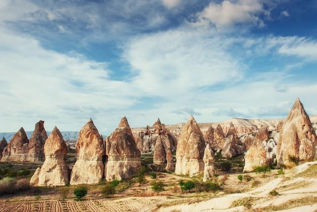Grot stad in cappadocië, turkije