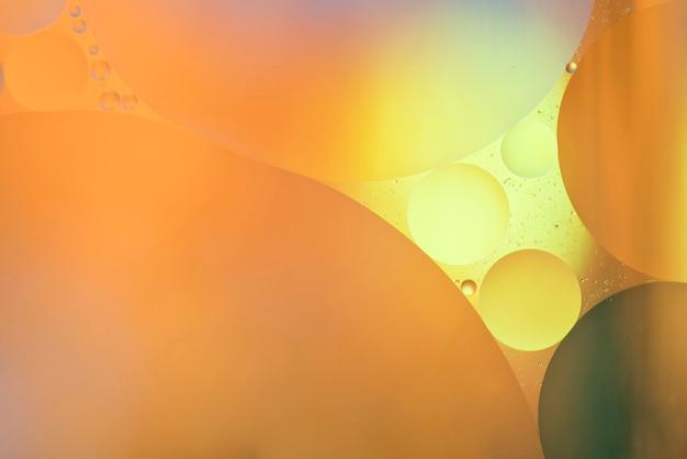 Grote abstracte oranje bubbels textuur