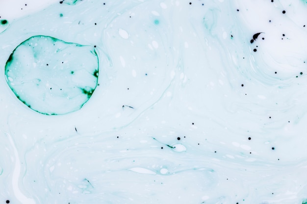 Grote bellen- en inktdruppels abstract