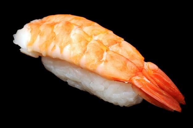 Grote garnalen nigirizushi (nigirisushi)