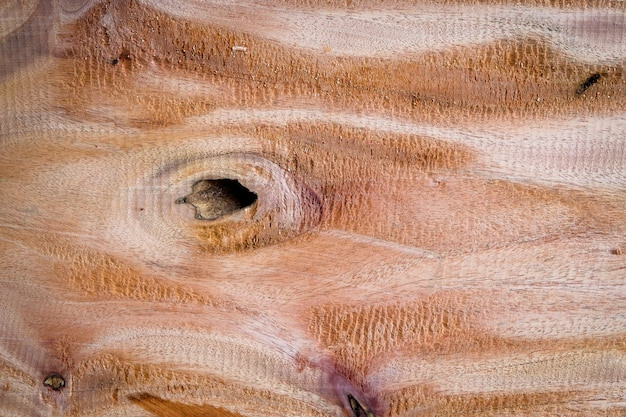 Grote hardhoutplank met detail, textuur en patroon van achtergrond van de huid de houten aard.