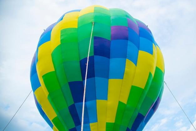 Grote kleurrijke ballon