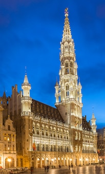 Grote markt in brussel, belgië