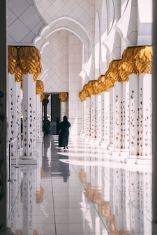 Grote moskee van abu dhabi