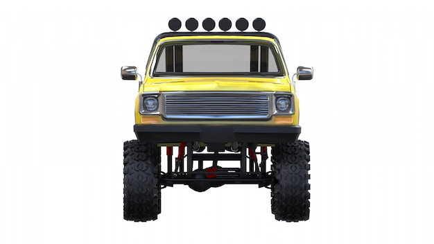 Grote pick-up off-road