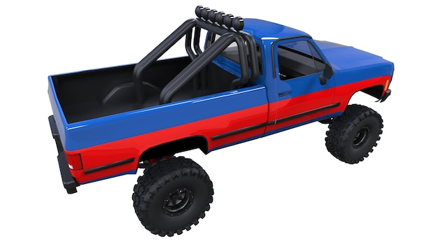 Grote pick-up offroad