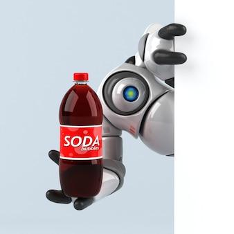 Grote robot - 3d illustratie
