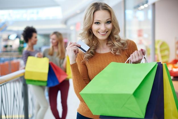 Grote tevredenheid na veel winkelen
