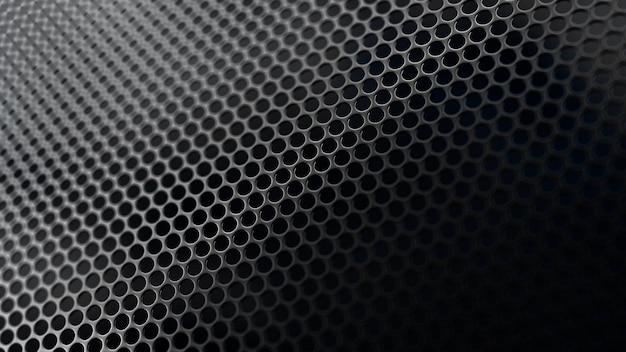 Grunge achtergrond met zeshoek textuur. 3d-afbeelding, 3d-rendering.