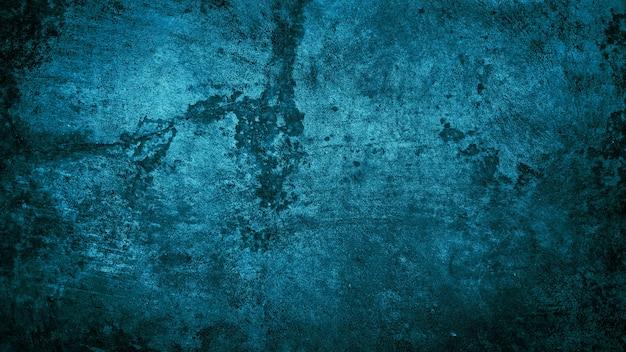 Grunge achtergrond van blauwe muur textuur achtergrond blauwe achtergrond