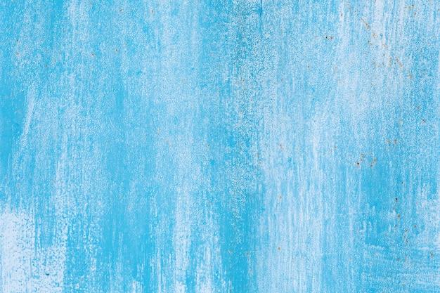 Grunge blauwe ijzer textuur achtergrond, metalen achtergrond met krassen
