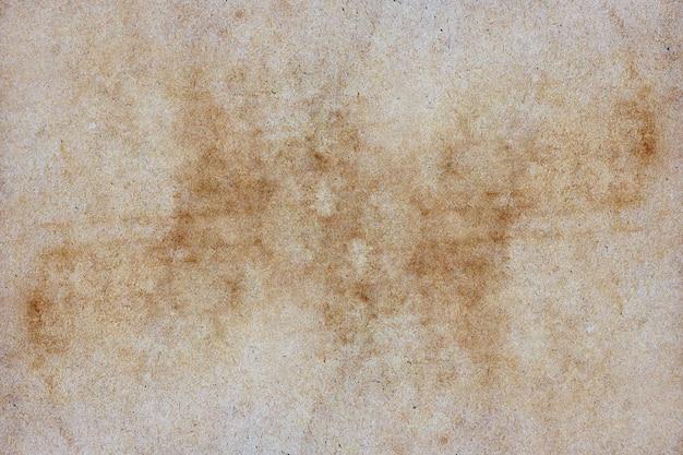 Grunge bruine papieren textuur voor achtergrond.