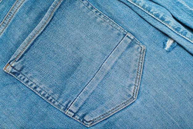 Grunge denim jeans textuur oppervlak.