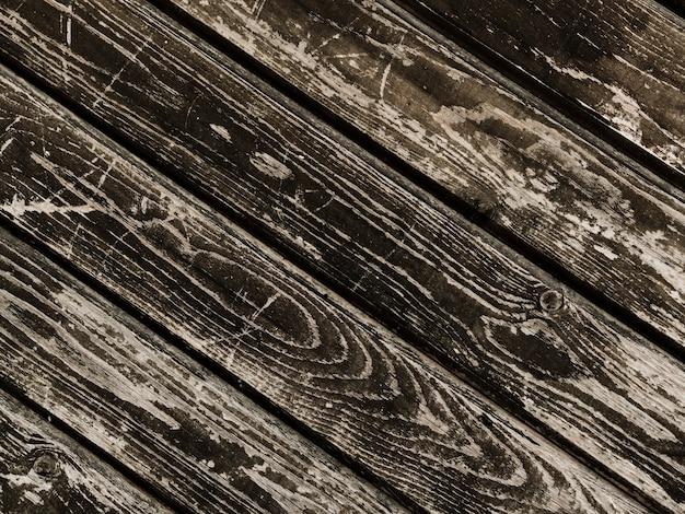 Grunge doorstane houten geweven lijst