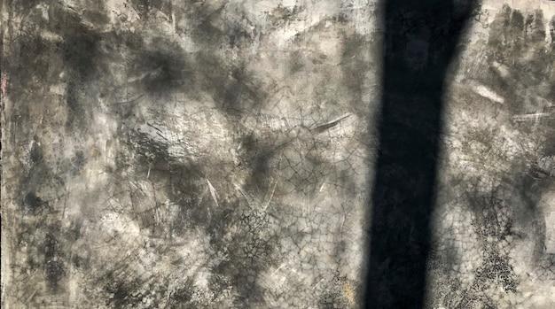 Grunge grijze verontruste getextureerde achtergrond