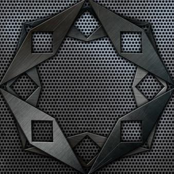Grunge metalen achtergrond