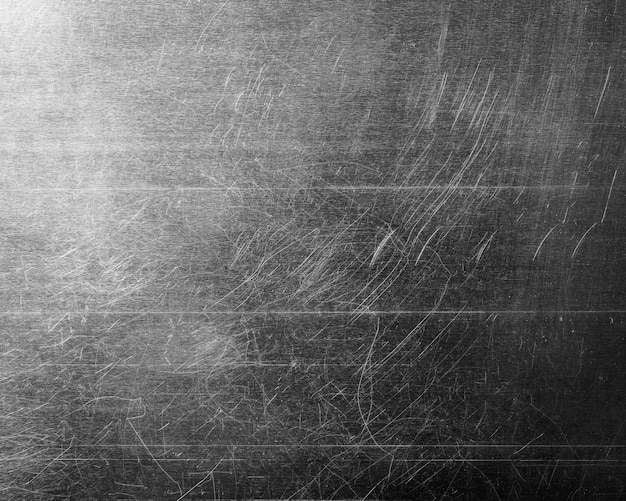 Grunge metalen plaat textuur achtergrond. detail van versleten staalmateriaal.
