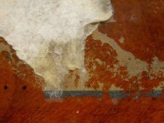 Grunge muur textuur, rood