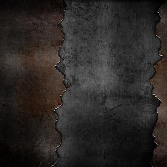 Grunge roestige metalen achtergrond