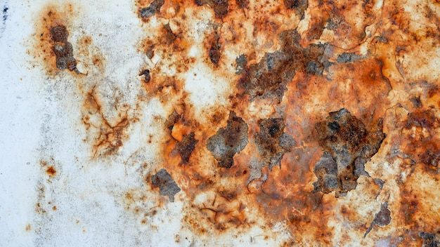 Grunge roestige metalen textuur achtergrond