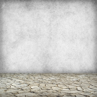 Grunge vuile oude grijze textuur of achtergrond