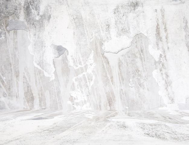 Grunge witte kamer.