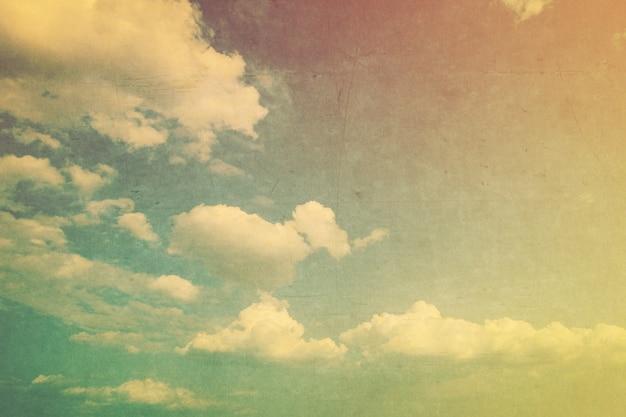 Grunge wolkwijnoogst met textuureffect.