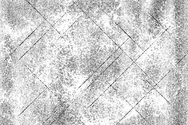 Grunge zwart-wit patroon monochrome deeltjes abstracte textuur achtergrond van scheuren slijtage