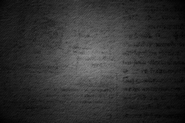 Grunge zwarte gedrukte pagina getextureerde achtergrond