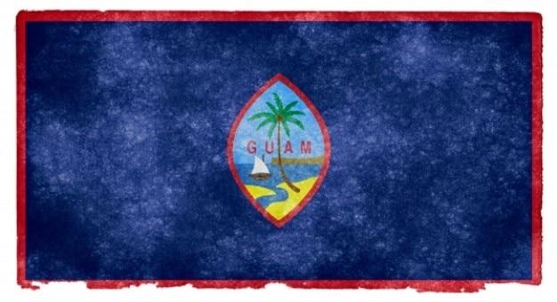 Guam grunge vlag