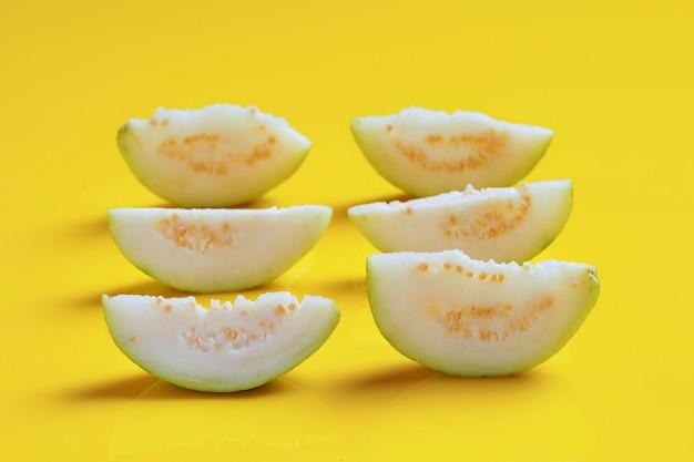 Guave of psidium guajava linn, fruit.